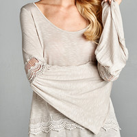 Bohemian Bliss Bell Sleeve Blouse