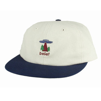 Belief: Believe 6 Panel - Natural / Navy