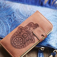 Free People Icon Leather Iphone Case