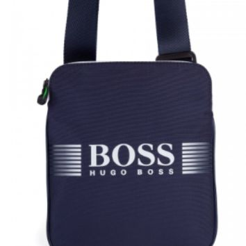Hugo Boss Navy Messenger Bag