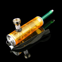 Portable Mini Acrylic Water Pipe