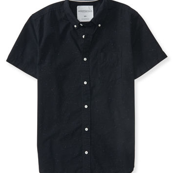 Speckled Woven Shirt