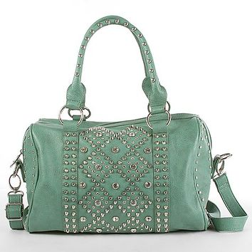 Symeli Stud and Rhinestone Purse - Women's Bags | Buckle