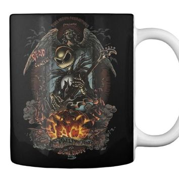 Black Halloween Mug - Horror Version