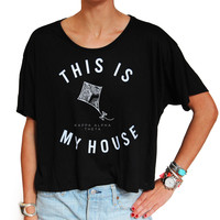 Kappa Alpha Theta This is My House Tee