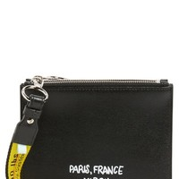 Off-White Virgil Was Here Set of 2 Zip Pouches   Nordstrom