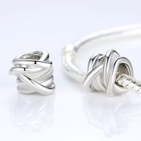 TOP Quality 925 Silver Crown Charm Beads Fit Original Pandora Bracelet Pendants For Women Jewelry Free Fast Shipping ALX-SCJS