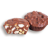 Giant Chocolate Nut Cups Candy: 24-Piece Box