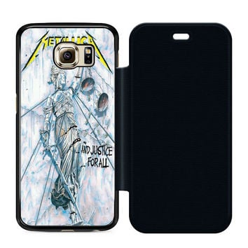 Metallica And Justice For All Flip Case Samsung S6  Case