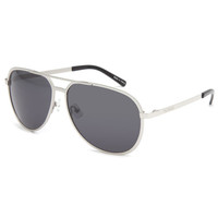 Filtrate Mp Sunglasses Chrome/Grey One Size For Men 23083411301