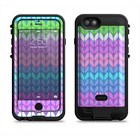 The Bright-Colored Knit Pattern Apple iPhone 6/6s LifeProof Fre POWER Case Skin Set