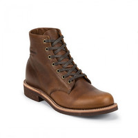 "Cloak & Dapper - Chippewa 6"" Tan Renegade Service Boot"