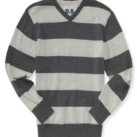 PS from Aero  Kids' Striped V-Neck Sweater