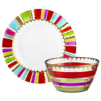 Festive Stripes Dinnerware