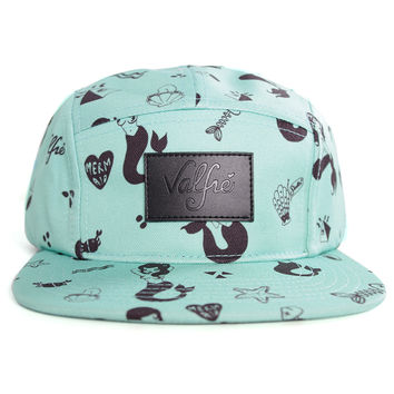 Mermaid 5 Panel Hat