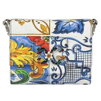 Multicolor Shoulder Bag by Dolce & Gabbana