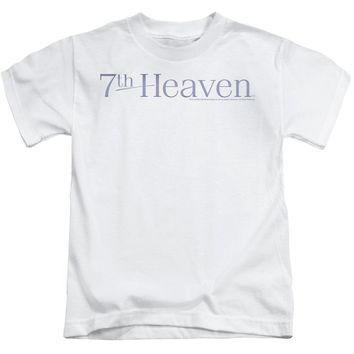 7 Th Heaven - 7 Th Heaven Logo Short Sleeve Juvenile 18/1