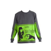Cav Empt H.O.T.Y.C Long Sleeve T-Shirt (Charcoal) - Mens