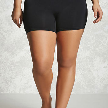 Plus Size Layering Shorts