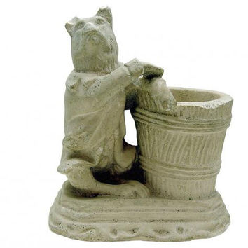 Vintage Chalkware Fox Match Holder