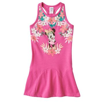Disney's Minnie Mouse Tropical Drop-Waist Dress by Jumping Beans - Toddler Girl, Size: