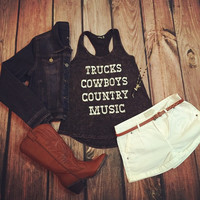 """""""Country Concert"""" Tank"""