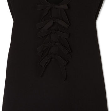 Bottega Veneta - Bow-detailed crepe top