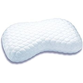Sleep Innovations Versacurve Multi-Position Memory Foam Pillow with Quilted Cover, Made in the USA with a 5-Year Warranty