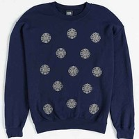 OBEY Medula Burnout Crew Neck Sweatshirt