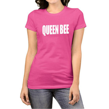 2017 Summer Women's T-Shirts Queen Bee Tumblr Funny Harajuku Punk Clothes T-shirts for Women Vintage Bts TShirt Female Tops