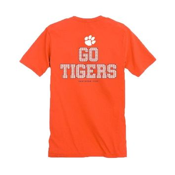 Clemson Chant Short Sleeve T-Shirt by Southern Tide