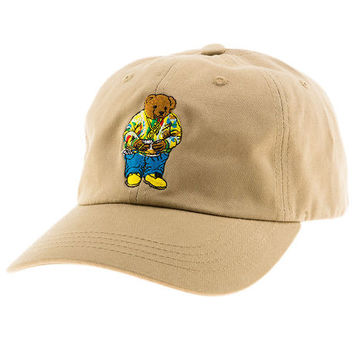 Biggie Bear (khaki) dad hat