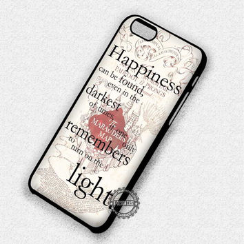 Marauders Map - iPhone 7 Plus 6 5 4 Cases & Covers