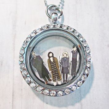Harry Potter Characters Floating Charms