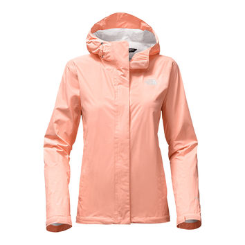 Women's Venture 2 Jacket in Tropical Peach by The North Face