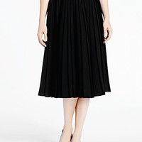 Kate Spade Accordion Pleat Crepe Skirt