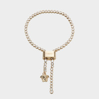 Versace Medusa Lock Lariat Necklace for Women | US Online Store