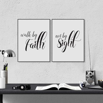 Love Never Fails Christian Prints Poster Bible Verse Canvas Painting For Home Living Room Wall Art Decoration