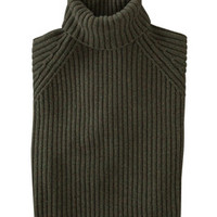 Ribbed Roll Neck