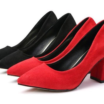 Womens Classic Stylish Office Heels