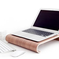 MacBook Wall Desk • Nordic Appeal