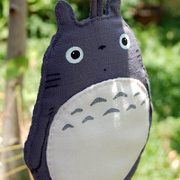 My Neighbor Totoro Samsung Galaxy Note 3 III 2 II phone soft case dark grey