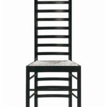 Charles Rennie Mackintosh Short Ladderback Chair