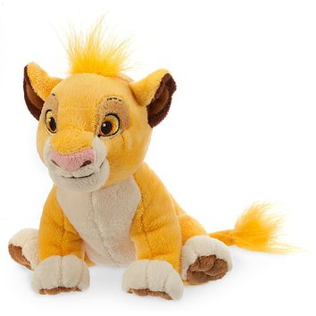 Disney The Lion King Simba Mini Bean Bag Plush New with Tags