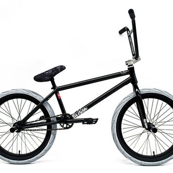 2016 Division Spurwood Complete BMX Bike Black Freecoaster