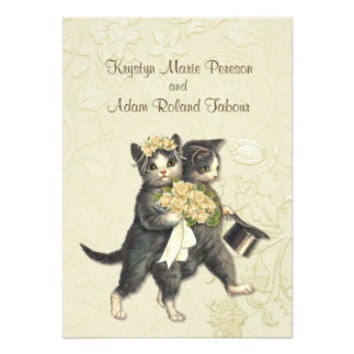 Posh Cats Wedding Ivory