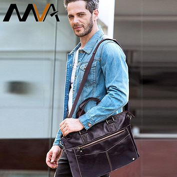 Men Briefcases Genuine Leather Laptop Bags Business Briefcases Bag Men Messenger Bags Document Bags For Man Handbags
