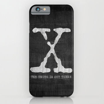 The X Files The Truth is Out There iPhone, smartphone, Samsung Galaxy, HTC iphone case