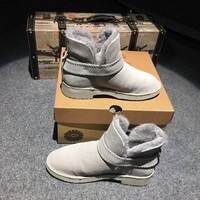 UGG Boosts For Women Color Gray