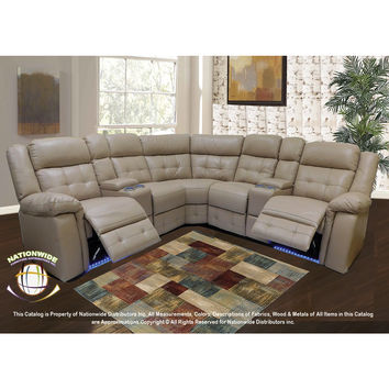 3pc. Bonded Leather Sectional